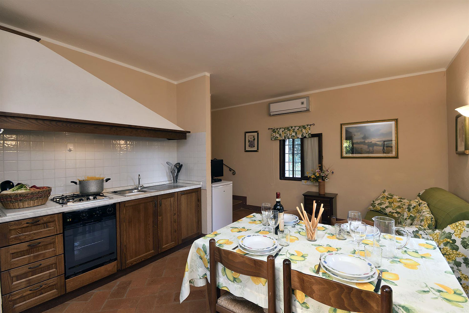 Chianti Classico vacation apartments